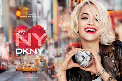 Rita Ora nos presenta el nuevo perfume de Donna Karan: DKNY My NY
