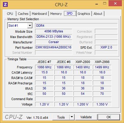 Corsair Ddr4 Cpuz