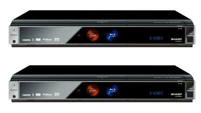 Sharp AQUOS BD-HW20, grabación de contenido en HD