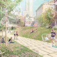 Madrid elige un centro urbano idílico a favor de peatones y ciclistas