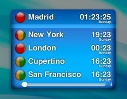 TimeScroller: Se acabaron los líos para conocer la hora en cualquier parte del mundo