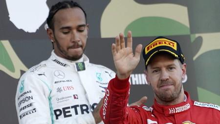 Vettel Hamilton F1 2020