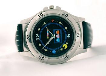 Reloj de pulsera de Pac-Man