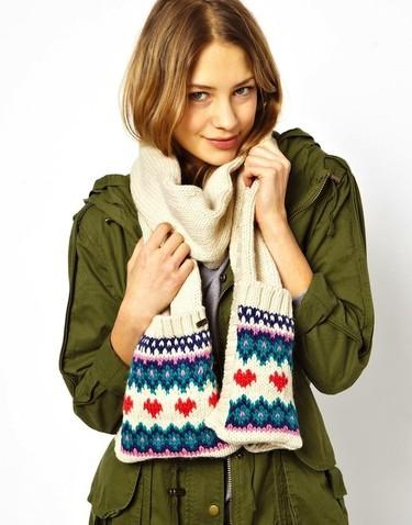 Bufandas fashion para no pasar nada de frío
