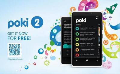 Ya se puede descargar Poki 2, el cliente de Pocket definitivo para Windows Phone