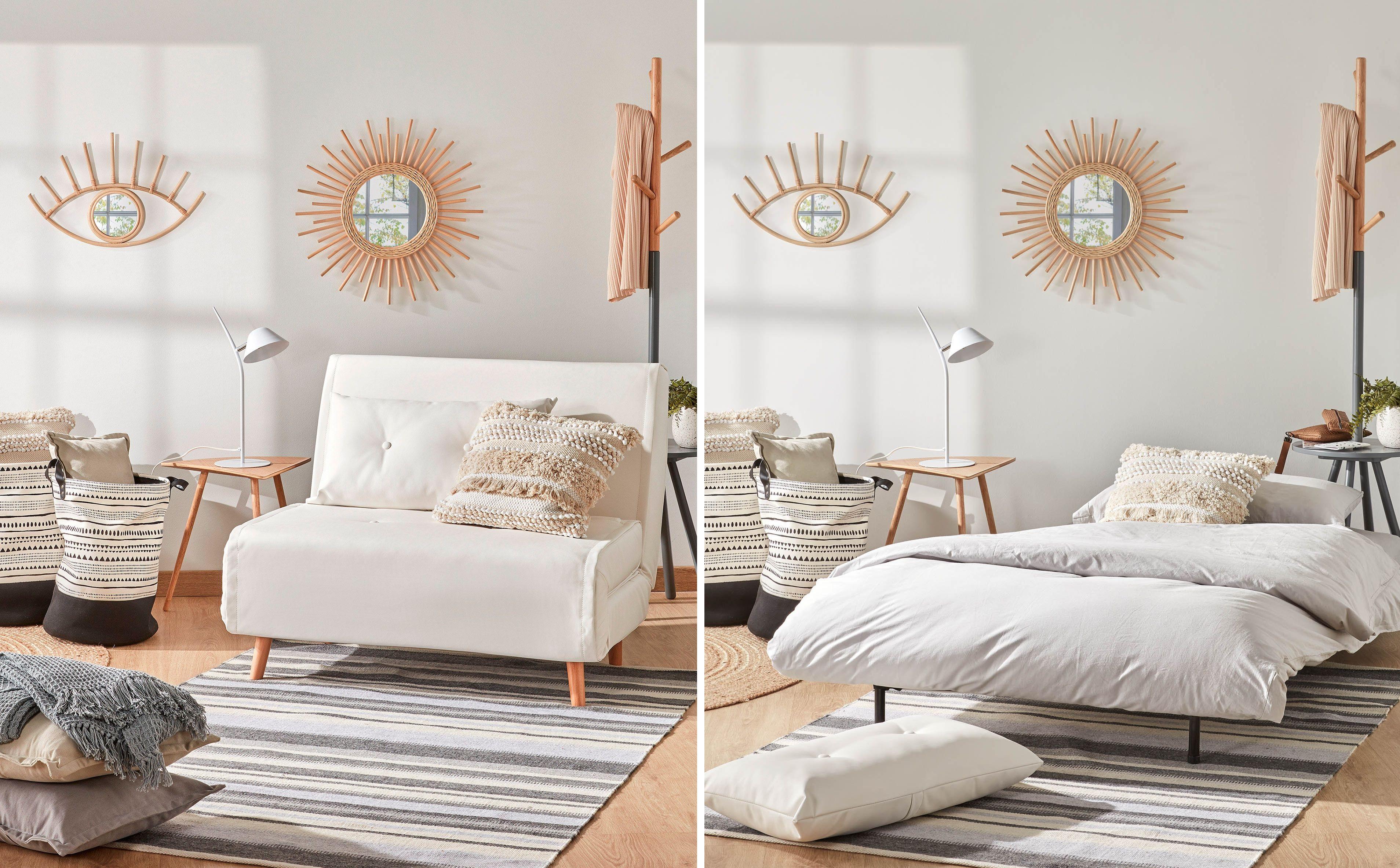 Sofá cama de 105 centímetros