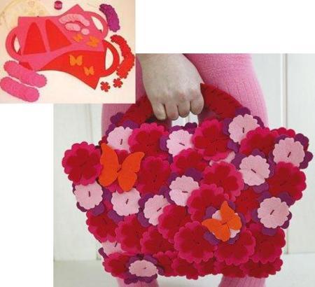 Kit cose tu bolso para las niñas