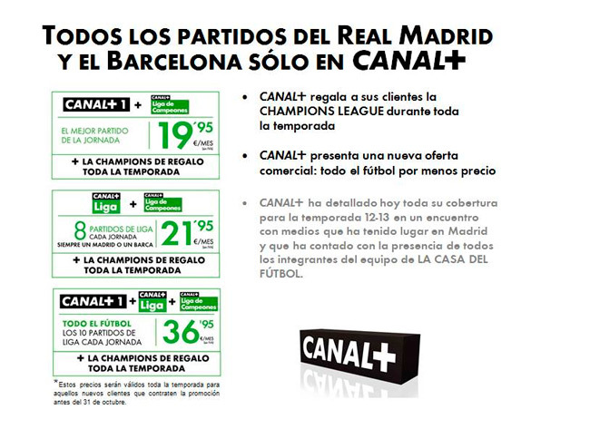 Canal+ Champions gratis