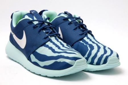 Nike Roshe Run, veo cebras azules