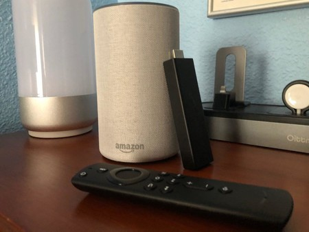 Amazon Echo y Fire TV Stick 4K