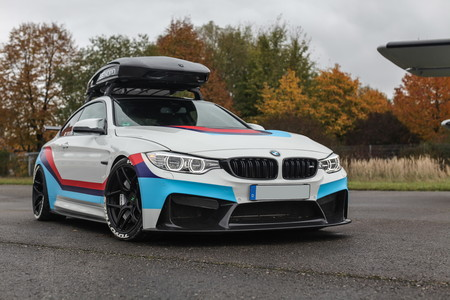 Este BMW M4R tiene 710 CV y es un escaparate de opciones 'aftermarket'