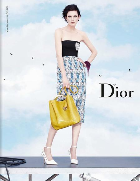 Stella Tennant para la campaña Christian Dior primavera-verano 2014 fotografiada por Willy Vanderperre