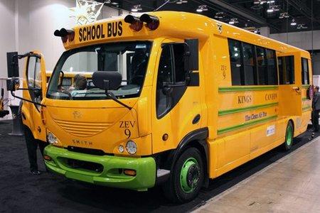 eTrans, el autobús escolar eléctrico