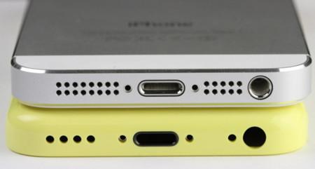 El supuesto iPhone de plástico aparece junto al iPhone 5