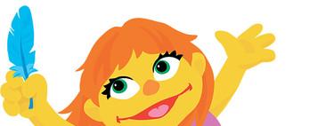Ella es Julia, el nuevo personaje con autismo de Barrio Sésamo