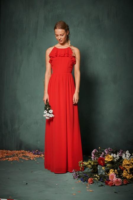Vestidos para ir a una boda color rojo