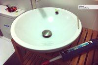 Proyecto minue: la increíble historia del lavabo que goteaba ¡por la cerámica!