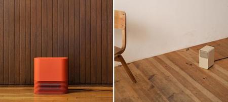 Calefactores minimalistas