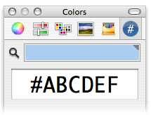 Hex color picker para Mac