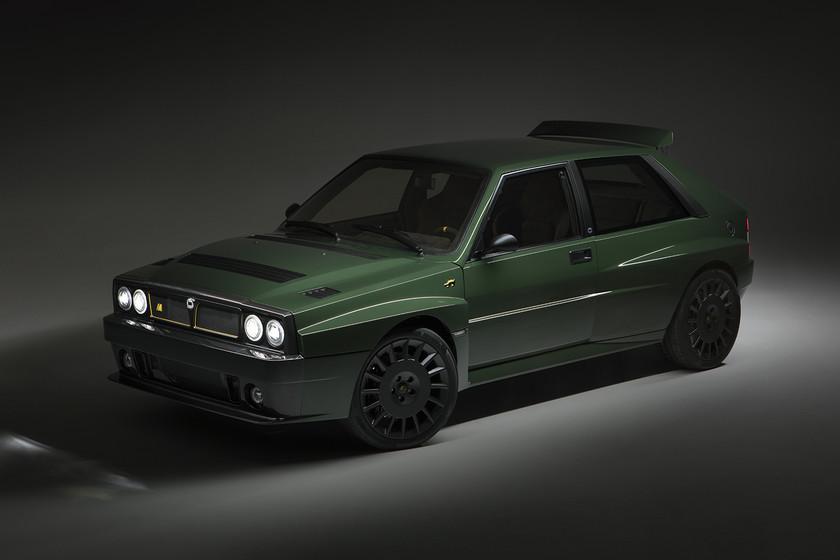 Tengo 32 años, un garaje de ensueño y lo voy a completar fabricando el Lancia Delta Futurista