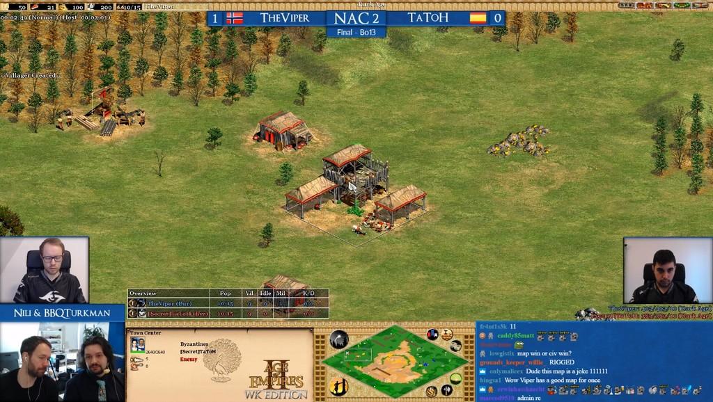 Tatoh, jugador profesional de Age of Empires 2: