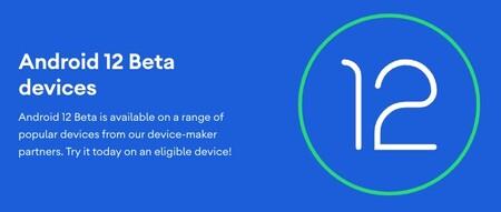Android 12 бета