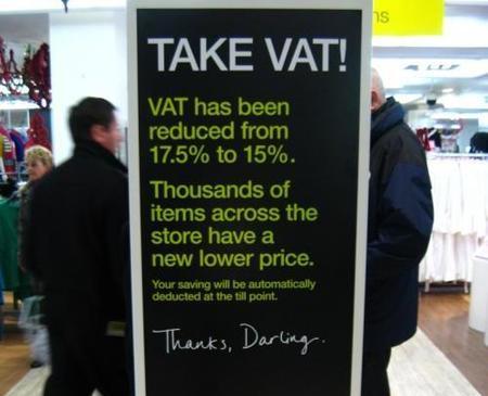 La reducción del IVA propuesta por Bruselas