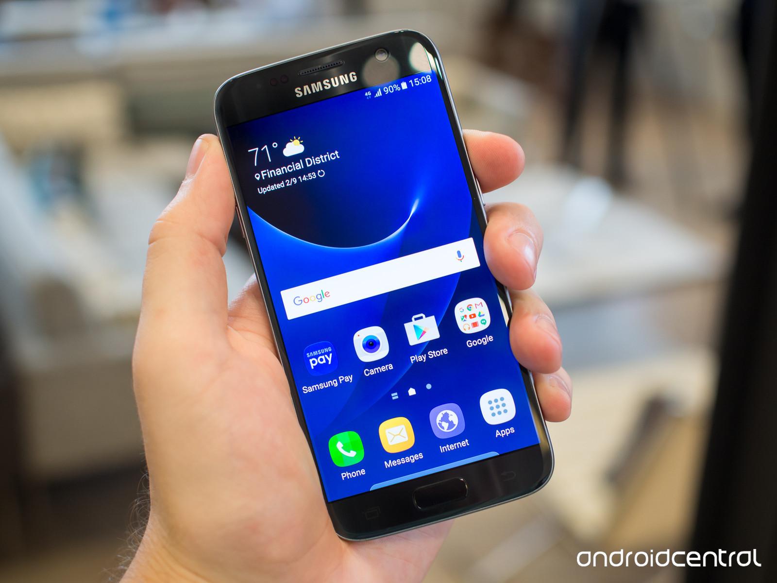 Foto de Samsung Galaxy S7, negro (1/3)