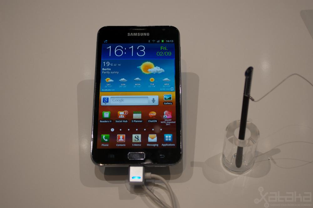 Foto de Samsung Galaxy Note en IFA 2011 (1/4)