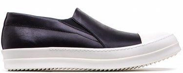 La slip on de Rick Owens y el lujo ponible