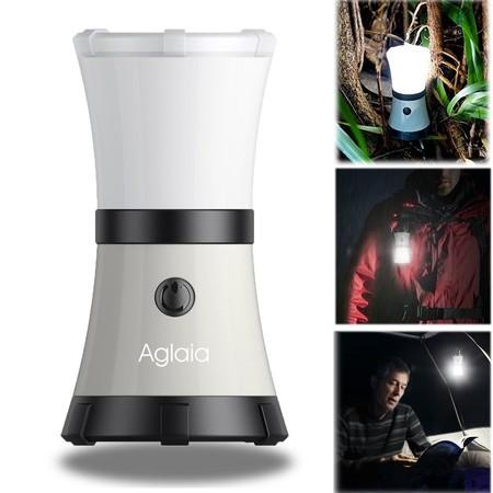 Cupón de descuento de más de 8 euros en el farol de camping LED Aglaia: aplicándolo cuesta 4,94 euros en Amazon