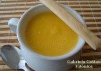 Sopa crema de calabaza. Receta saludable