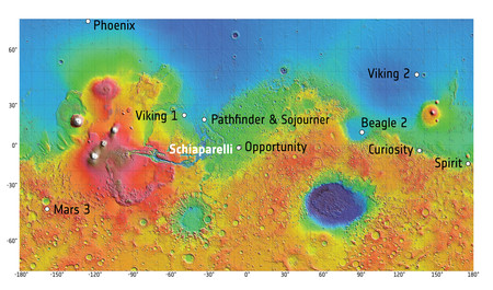 Exomars2016 Mars Map Landing Sites 20161010