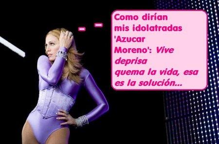Madonna tú sí que sabes como ganarte a la suegra...
