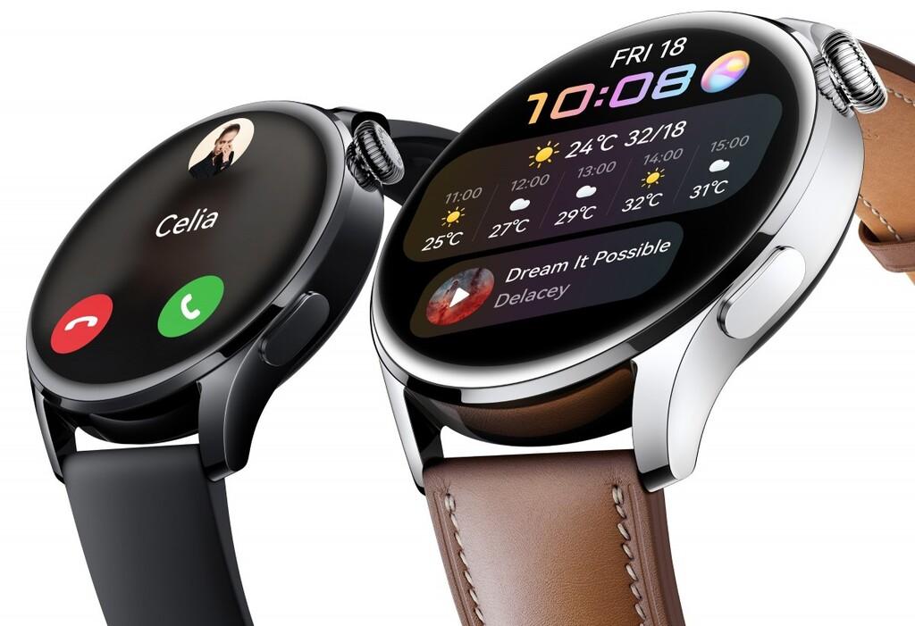 Los Huawei Watch 3 y Watch 3 Pro llegan con conectividad 4G, SpO2 y una apuesta total por HarmonyOS 2