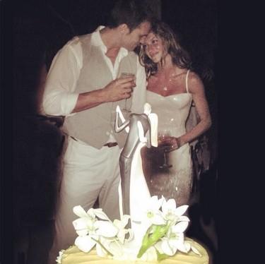 Lo de Gisele Bündchen va así: aniversario de boda es igual a foto exclusiva años después