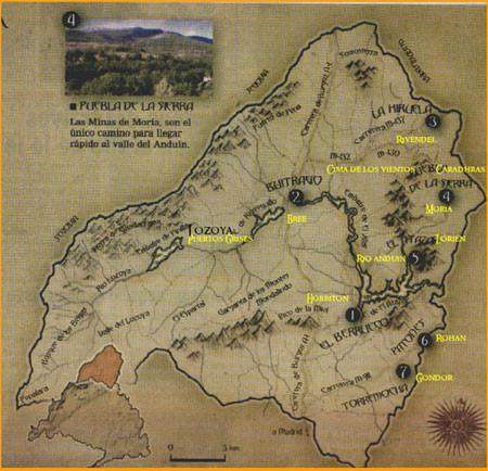 'Pequeña Tierra Media', Tolkien en la Sierra de Madrid