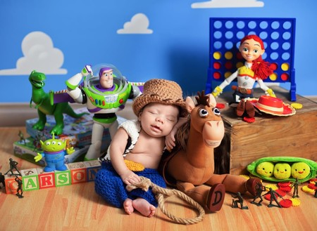 Sesion Fotos Bebes Toy Story 2