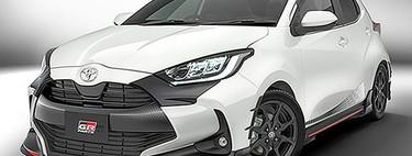 El nuevo Toyota Yaris TRD 2020 filtra su primera imagen en redes sociales
