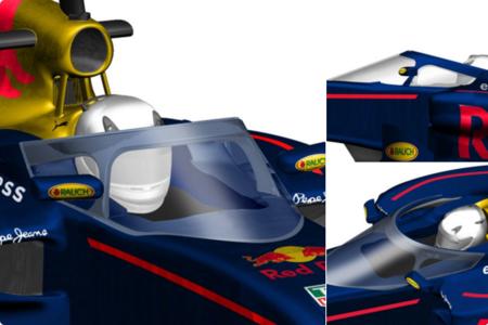 Red Bull muestra su propuesta de seguridad para 2017, de nuevo muchos pros y contras