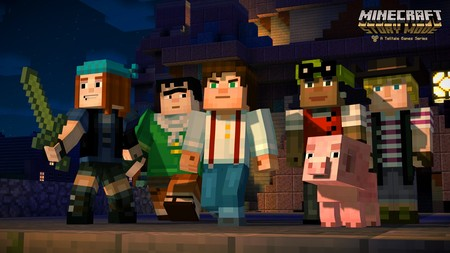 Minecraft: Story Mode - The Complete Adventure ya está a la venta: los ocho episodios juntos y en físico