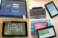 Tablets Android con Honeycomb en España: cuatro modelos disponibles que hemos probado