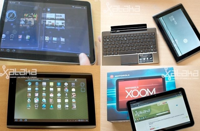 Tablets Android con Honeycomb en España