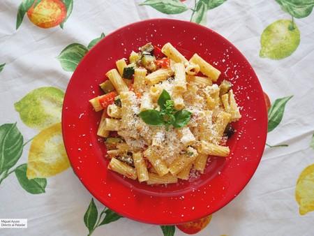 Pasta vegetariana de mediados de verano: el plato ideal para aprovechar las bondades de la huerta