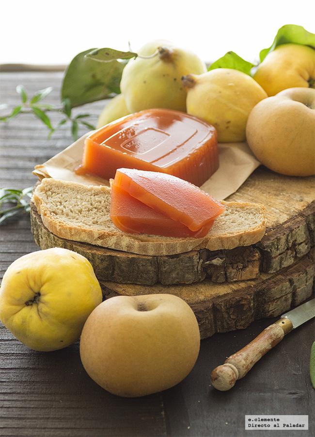 Dulce de membrillo y manzana receta - Como preparar membrillo ...