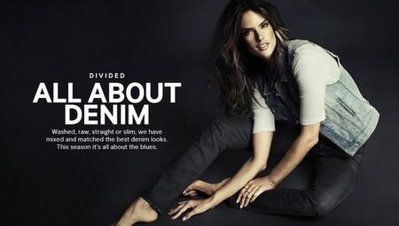 Alessandra Ambrosio para H&M: nunca un vaquero se sintió tan dichoso