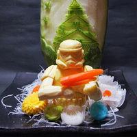 Comida de EsCultura: Verduras talladas para los fanáticos de Star Wars