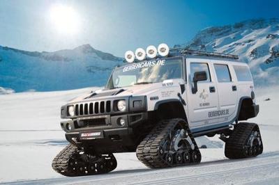 Hummer H2 Bomber por GeigerCars, preparado para la nieve y para lo que haga falta