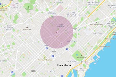 ¿Cuánto es un kilómetro? Un mapa para calcular hasta dónde puedes llegar paseando a partir de ahora