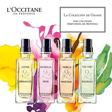 L'Occitane presenta la Colección de Grasse, aguas frescas para sentirte como en la Provenza francesa
